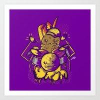 drum Art Prints featuring Drum by andreaga