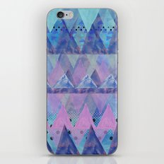 Layered Triangles 2 iPhone & iPod Skin