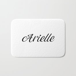 Name Arielle Bath Mat