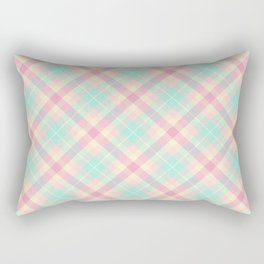Spring Plaid 6 Rectangular Pillow