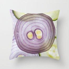 Food Art Throw Pillow