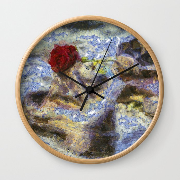 Shoes On The Danube Bank Van Gogh Wall Clock