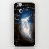 the last unicorn iPhone & iPod Skins featuring Last unicorn by Zuzana Ondrejkova