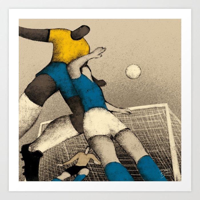 History of Football - 1970 Art Print
