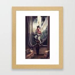 Supernatural: Angel watching over you Framed Art Print