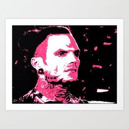 Jeff Hardy Portrait Art Print