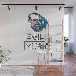 Evil Music Wall Mural
