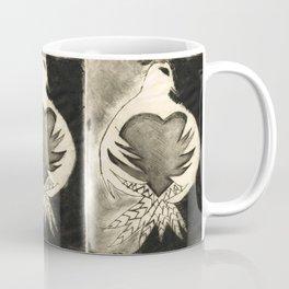 White Dove Art - Comfort - By Sharon Cummings Coffee Mug