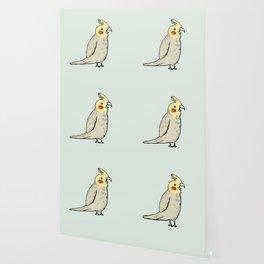 Happy Cockatiel Wallpaper