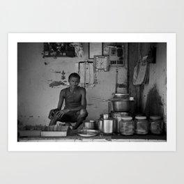Chaiwala  Art Print