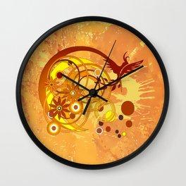 Kakadu Wall Clock