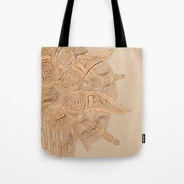 tiled Tote Bag