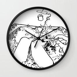 relax Wall Clock