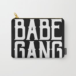 Babe Gang - White Carry-All Pouch