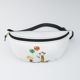 calvin and hobbes ballon Fanny Pack