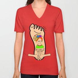 Hands Unisex V-Neck