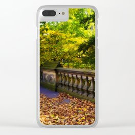 Central Park xx Clear iPhone Case
