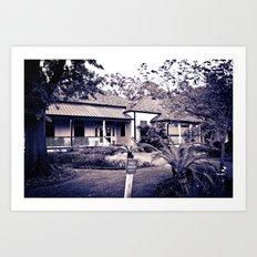 Audubon Clubhouse Art Print