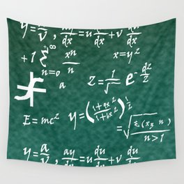 Math Equations Wall Tapestry