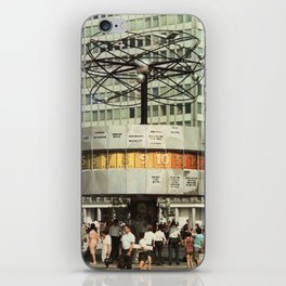 East berlin Weltzeituhr iPhone Skin