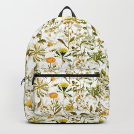 Vintage & Shabby Chic - Yellow Wildflowers Backpack