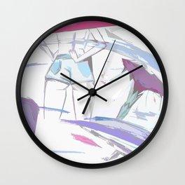 BADASS with GOOD ASS Wall Clock