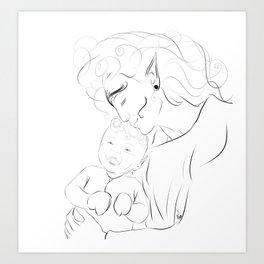 Proud Mother Art Print