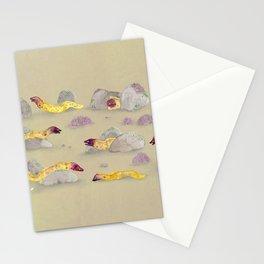 White-eyed Moray Eels Stationery Cards
