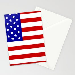 Original American flag Stationery Cards