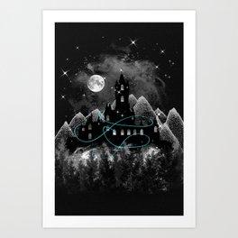 The Hidden Kingdom Art Print