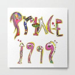 Prince 1999 Metal Print