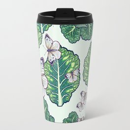 butterflies in the garden Travel Mug