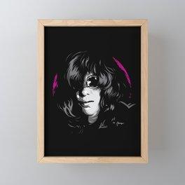 Ramones Joey Framed Mini Art Print