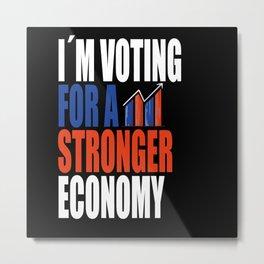 Vote 2020 Quotes Metal Print