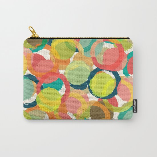 COLORFUL CIRCLES PATTERN  Carry-All Pouch