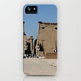 Temple of Luxor, no. 13 iPhone Case
