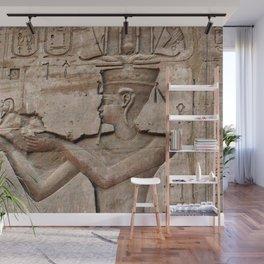 Horus and Temple of Edfu Wall Mural
