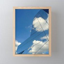Fantastic Clouds Classic Framed Mini Art Print