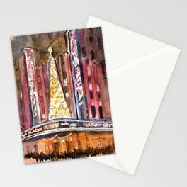 Radio City Music Hall at Christmas Stationery Cards