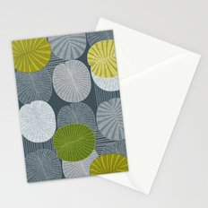 Dickinsonia Lime Stationery Cards