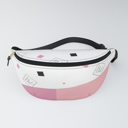 Spring Fashion Pattern #cute #blush #kirovair #pattern #pink #coral #home #decor Fanny Pack