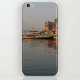 Reflections in the Ganges iPhone Skin