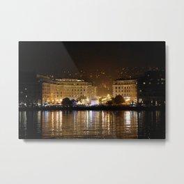 Thessaloniki Square Metal Print