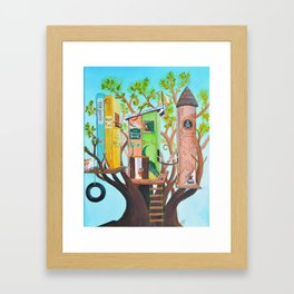 Boys' Life Framed Art Print
