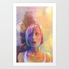 Growing Up Art Print