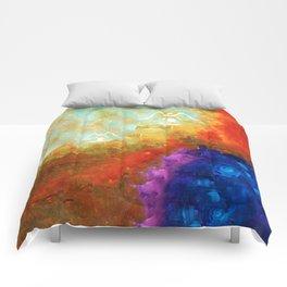 Angels Among Us - Emotive Spiritual Healing Art Comforters