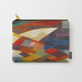 Otto Freundlich Composition, 1930 Colorful Geometric Painting Carry-All Pouch