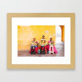 COLOMBIA 4 Framed Art Print
