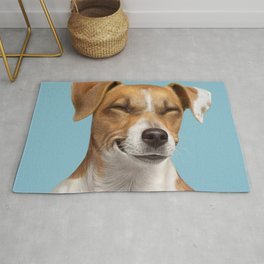 Smiling Dog (Jack Russell) Rug