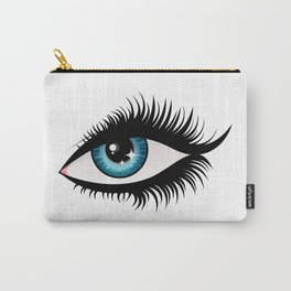 Blue fem eye Carry-All Pouch